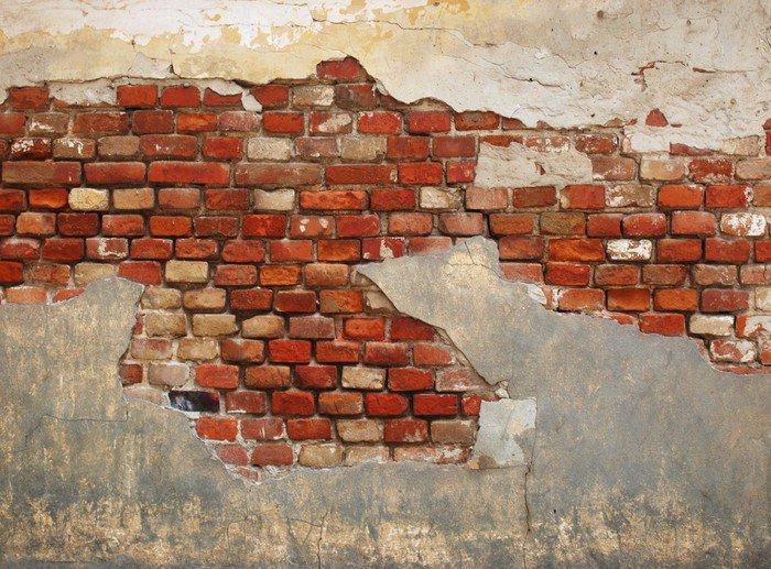 Кирпичная кладка на стену