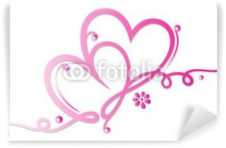 Valentinstag, Valentin, Herz, Herzen, Liebe, Logo, love Wall Mural ...