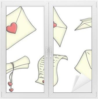 Liebesbrief, Brief, Liebe, Valentinstag, Botschaft, Nachricht Wall ...