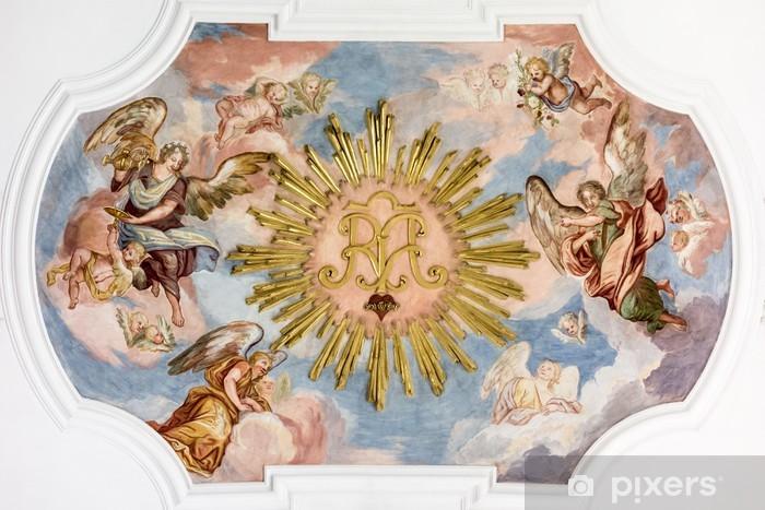 Pixerstick Dekor Fresco änglar - Teman
