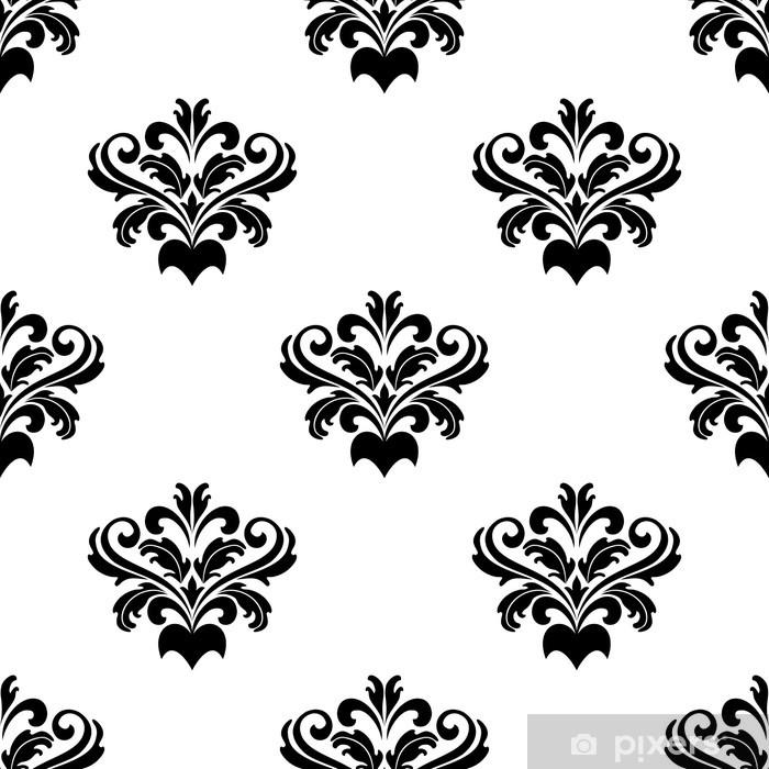 Fotomural Diseño de follaje arabesco de damasco • Pixers® - Vivimos ...