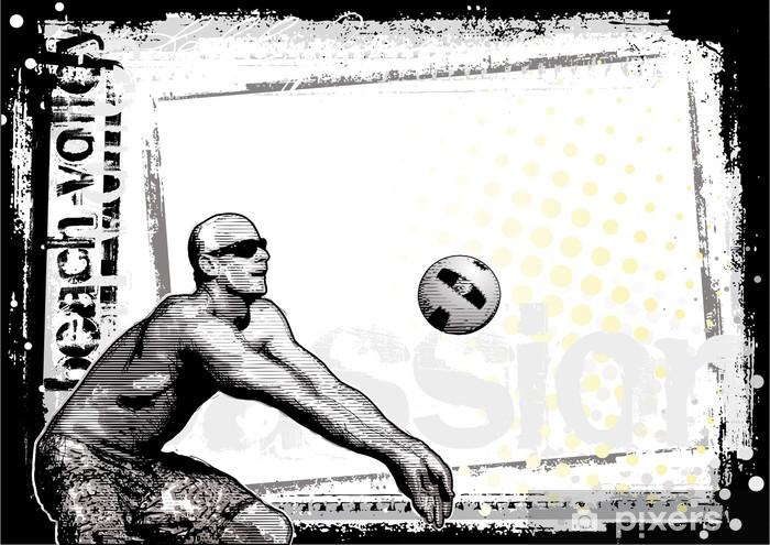 Fotomural Fondo de voleibol de playa 4 • Pixers® - Vivimos para cambiar