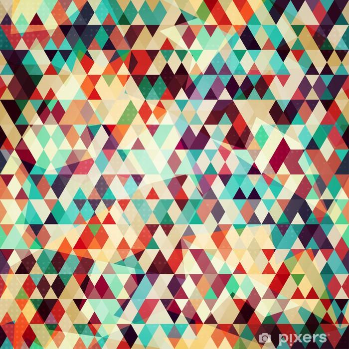 Fotomural Triángulo De Color Patrón Sin Fisuras Pixers Vivimos