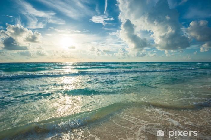 Vinyl Fototapete Strand, Meer Und Blauen Himmel   Amerika