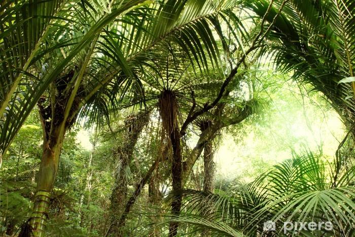 Vinyl-Fototapete Tropischer Dschungel - Themen