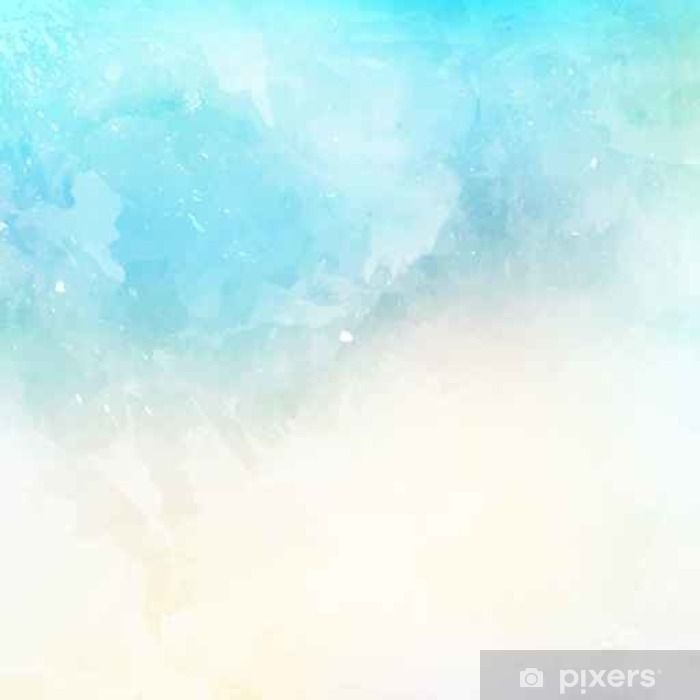 Vinylová fototapeta Akvarel textury na pozadí - Vinylová fototapeta