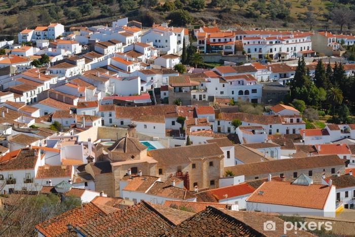 Vinylová fototapeta Aracena je město v provincii Huelva, Španělsko. - Vinylová fototapeta