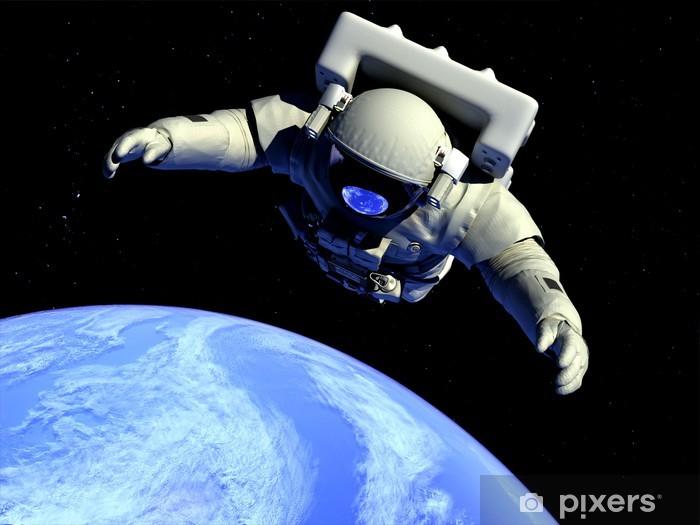 Vinylová fototapeta Astronaut - Vinylová fototapeta
