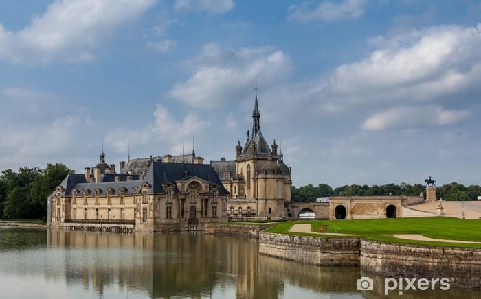Vinylová fototapeta Château de Chantilly. - Vinylová fototapeta