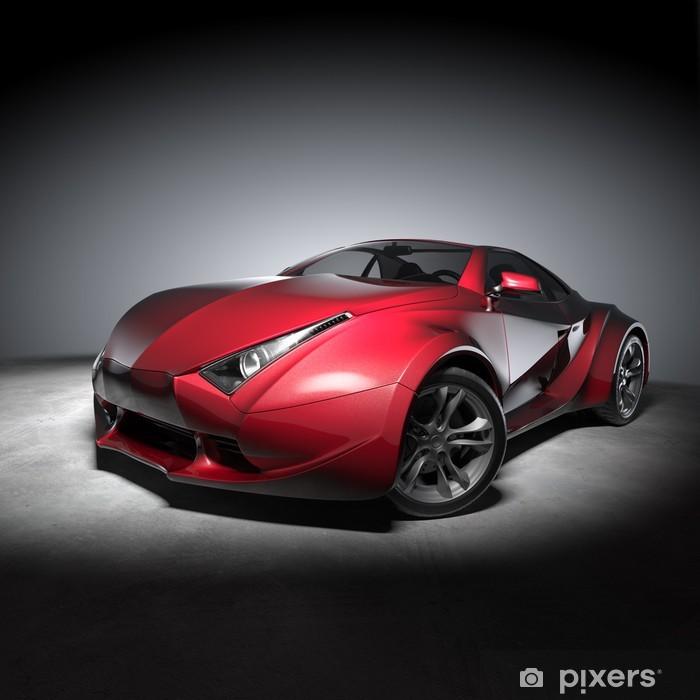 Vinylová fototapeta Concept car - Vinylová fototapeta