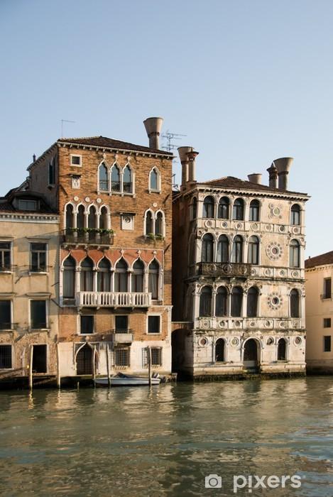 Vinylová fototapeta Dvě krásné paláce v Grand Canal, Benátky, Itálie - Vinylová fototapeta