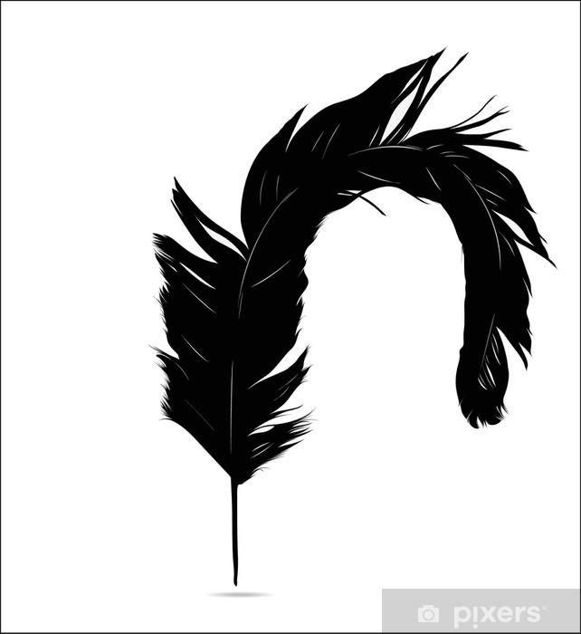 Vinylová fototapeta Feather Set - Vinylová fototapeta