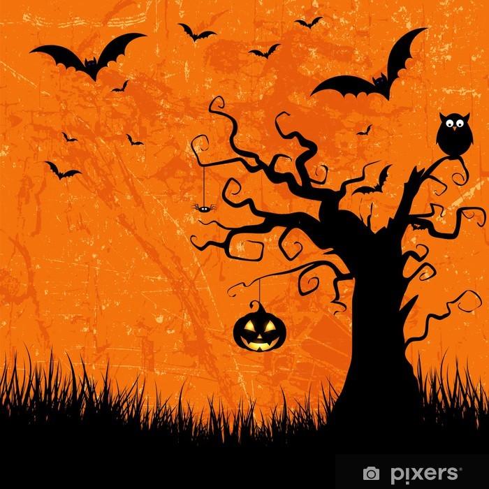 Vinylová fototapeta Grunge halloween pozadí - Vinylová fototapeta
