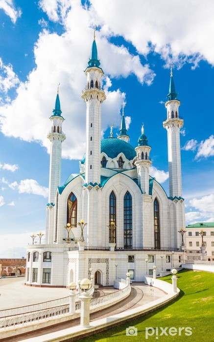 Vinylová fototapeta Kul Šerif Mešita v Kremlu ve městě Kazaň, Tatarstán, Rusko - Vinylová fototapeta