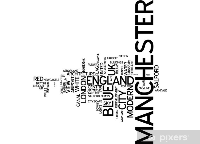 Vinylová fototapeta Manchester (UK) - Vinylová fototapeta
