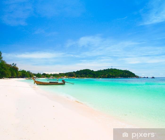 Vinylová fototapeta Nádherná pláž na ostrově Koh Lipe, Andaman Sea, Thajsko - Vinylová fototapeta