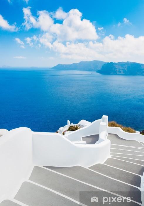 Vinylová fototapeta Ostrov Santorini, Řecko - Vinylová fototapeta