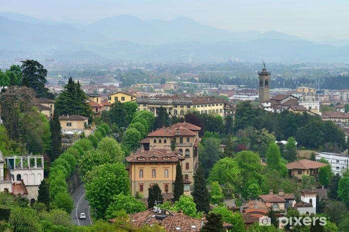 Vinylová fototapeta Pohled na město Bergamo, Itálie - Vinylová fototapeta