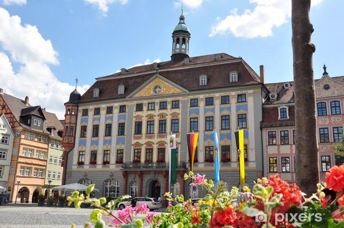 Vinylová fototapeta Rathaus v Coburg, Bayern - Vinylová fototapeta