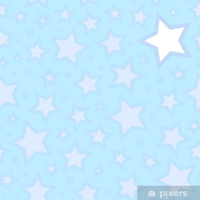 Vinylová fototapeta Seamless hvězdy pozadí - Vinylová fototapeta