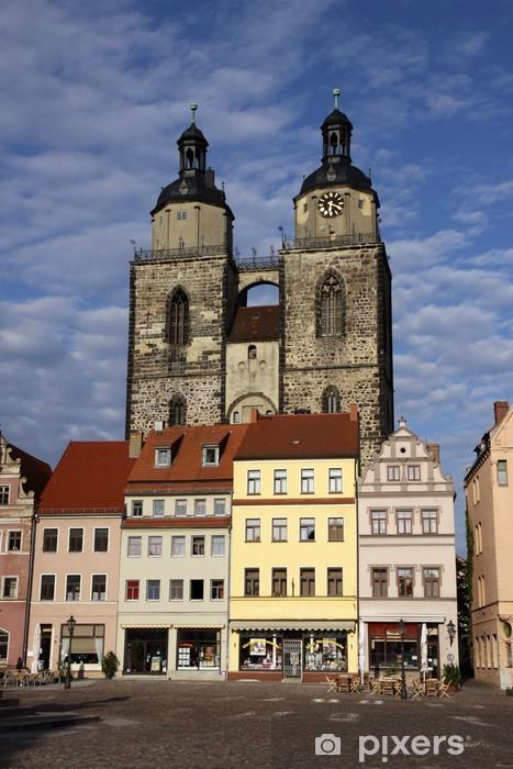 Vinylová fototapeta Stadtkirche Lutherstadt Wittenberg - Vinylová fototapeta