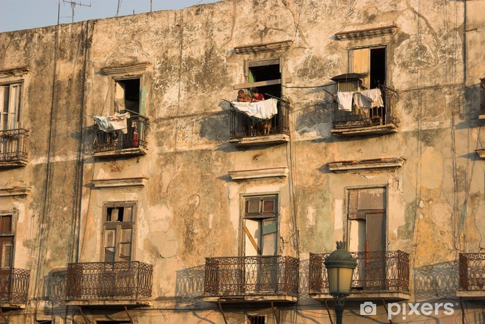 Vinylová fototapeta Starý dům v Habana - Vinylová fototapeta