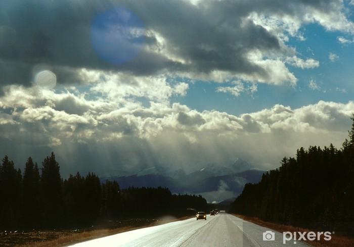 Vinylová fototapeta Trans-Canada Highway 1 - Vinylová fototapeta