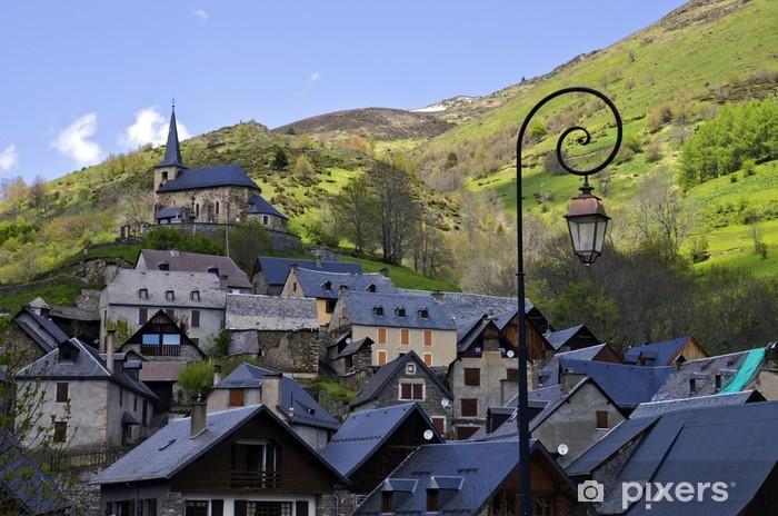 Vinylová fototapeta Village des Pyrénées - Vinylová fototapeta