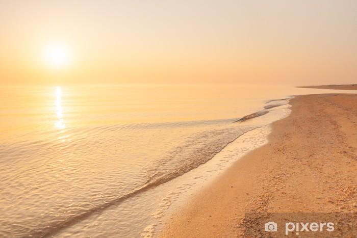 Vinylová fototapeta Východ slunce nad mořem - Vinylová fototapeta