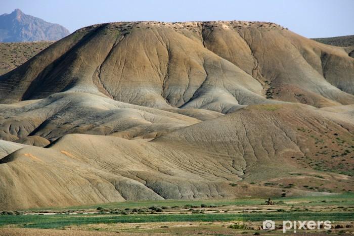 Vinylová fototapeta Wüstenlandschaft nahe dem Oued Moulouya, Marokko - Vinylová fototapeta