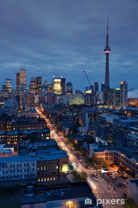 Mural de Parede em Vinil Toronto lights - América