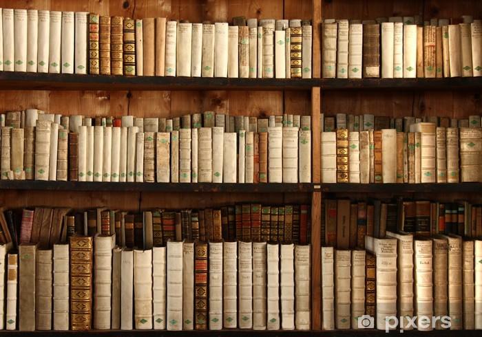 Papier Peint Etagere De Livres Anciens Pixers Nous Vivons Pour
