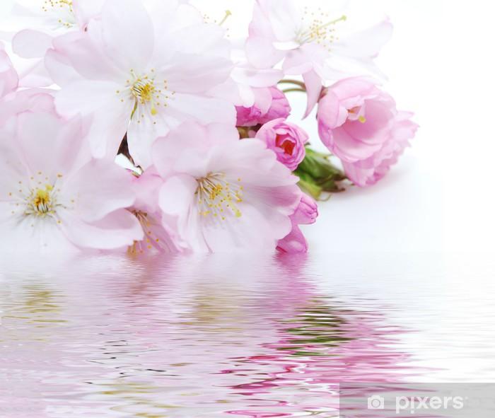 Papier Peint Fleur Rose Pixers Nous Vivons Pour Changer