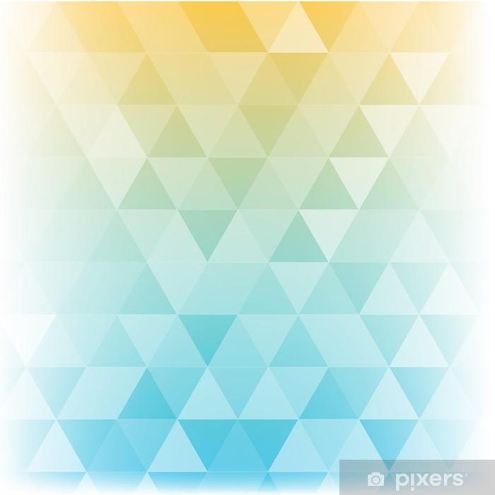 Papier Peint Geometrique Polygone Abstrait De Pastel Soleil Pixers