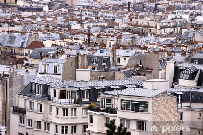 Papier Peint Toits De Paris France Pixers Nous Vivons Pour Changer