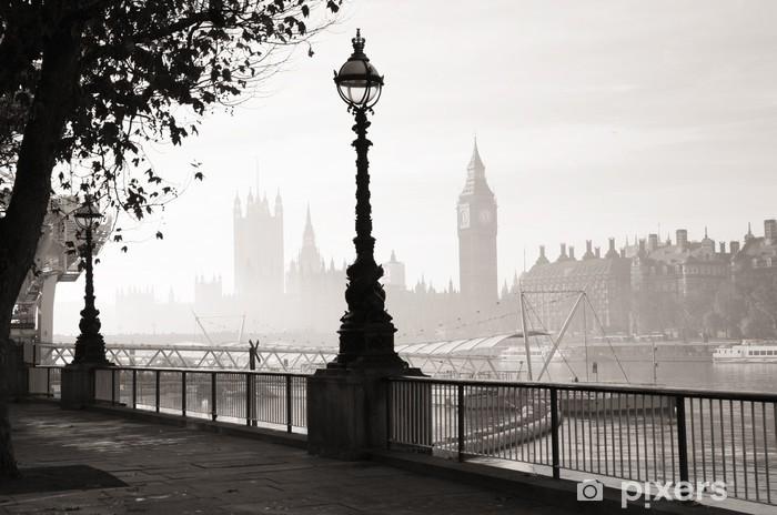 Papier Peint Un Epais Brouillard Frappe Londres Pixers Nous