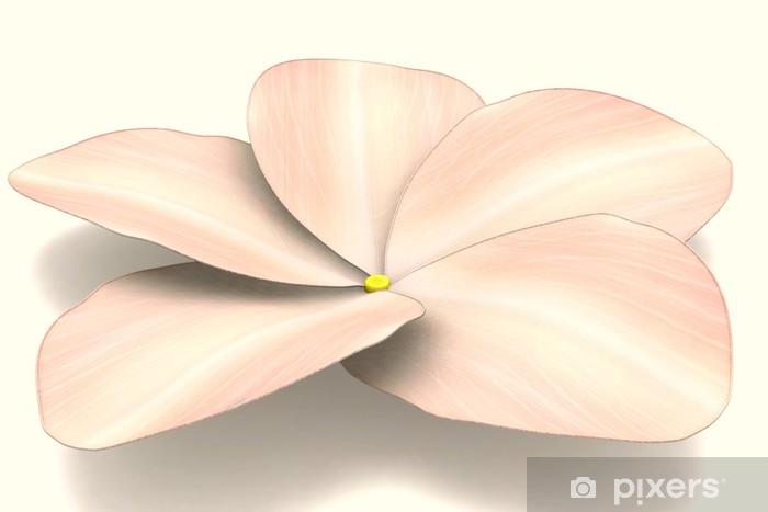 Sticker Pour Armoire Fleur Hawaienne Pixers Nous Vivons Pour
