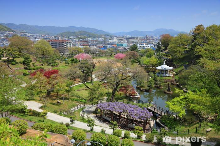 Sticker pour table et bureau himeji japon gardens cemetery