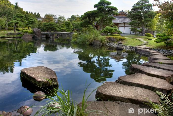 Sticker pour table et bureau jardin japonais u2022 pixers® nous vivons