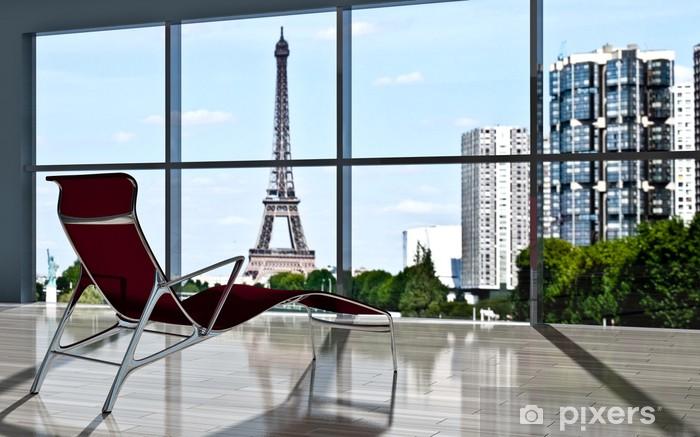 Sticker pour table et bureau loft parisien u2022 pixers® nous vivons