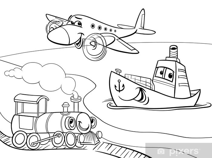 Aviones Grandes Para Colorear - tongawale.com