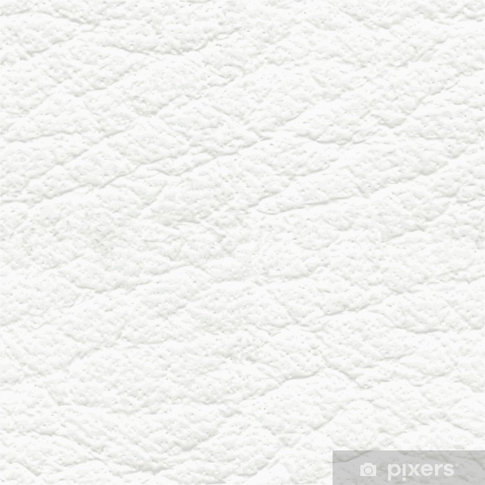 White Leather Seamless Texture Vinyl Wall Mural