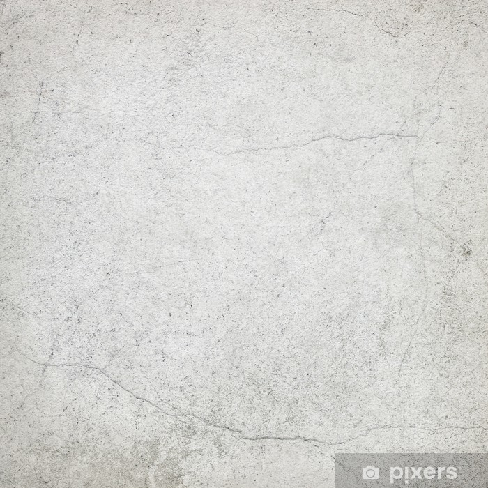 White Wall Texture Grunge Background Vinyl Mural