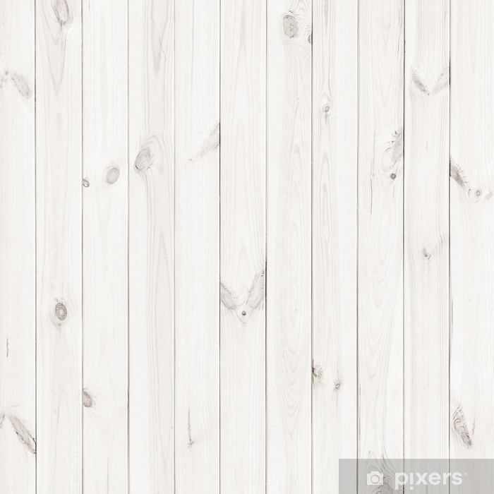 White Table Top View In White Wood Texture Background Wooden Table Top View Vinyl Wall Mural Graphic Resources
