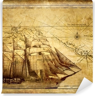 Abwaschbare Fototapete Abenteuer Geschichten - Jahrgang Hintergrund