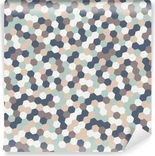 Abwaschbare Fototapete Abstrakt Hexagon