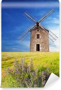 Abwaschbare Fototapete Antico Mulino a vento