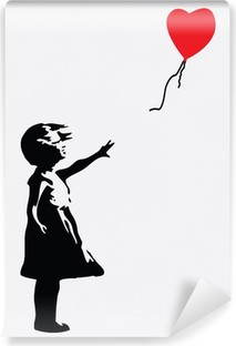 Abwaschbare Fototapete Banksy