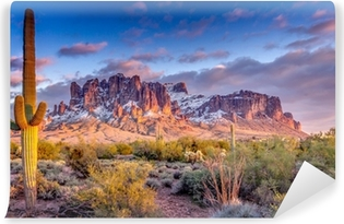 Abwaschbare Fototapete Berglandschaft in Arizona