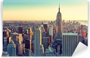 Abwaschbare Fototapete Die stadt new york
